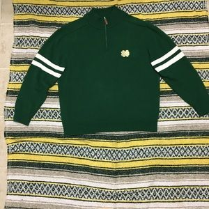 Notre dame sweater college ncaa